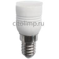 Ecola T25 LED Micro 3,3W 220V E14 2700K 180° матовая (керамика) 55x23