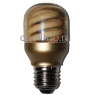 Ecola cylinder 10W DEP/T45 220V E27 золотистый цилиндр 78х45