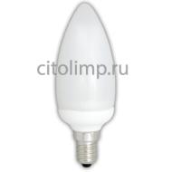 Ecola candle 11W EIC/M 220V E14 4100K свеча 112x38 УВВ
