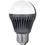 Ecola classic LED Premium 15W Dimmable A60 E27 4000K диммируемая (ребристый алюм. радиатор) 110x60