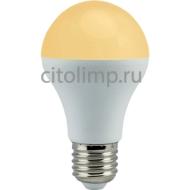 Ecola classic LED 9,3W A60 220-240V E27 золотистый (композит) 106x60
