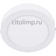 Ecola LED downlight накладной Круглый даунлайт с драйвером 6W 220V 4200K 120x32