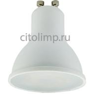 Ecola Reflector GU10 LED 5,4W 220V 2800K (композит) 56x50