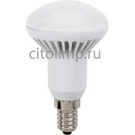 Ecola Reflector R50 LED Premium 7,0W 220V E14 6500K (ребристый алюм. радиатор) 85x50