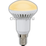 Ecola Reflector R50 LED 5,4W 220V E14 золотистый (ребристый алюм. радиатор) 85x50