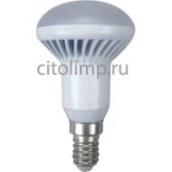 Ecola Reflector R50 LED 7,0W 220V E14 6500K (ребристый алюм. радиатор) 85x50