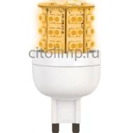 Ecola G9 LED Premium 3,6W 220V золотистый 300° 64x32