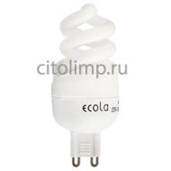 Ecola G9 Spiral 9W 220V G9 Slim 2700K 80x31