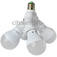 Ecola High Power LED Premium 48W 220V 270° E27 2700K (комплект) 160х215mm