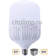 Ecola High Power LED Premium 40W 220V универс. E27/E40 (лампа) 4000K 220х120mm