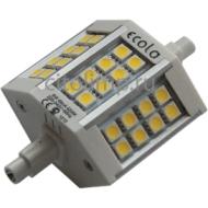 Ecola Projector LED Lamp Premium 6,0W F78 220V R7s 6500K (алюм. радиатор) 78x32x51