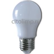 Ecola classic LED 7,0W A50 220V E27 4000K 360° (композит) 92*50
