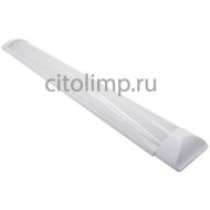 Ecola LED linear IP20 линейный светодиодный светильник (замена ЛПО) 20W 220V 4200K 600x75x25
