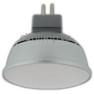 Ecola Light MR16 LED 4,0W 220V GU5.3 2800K матовое стекло (алюм. радиатор) 46x50