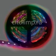 Ecola LED strip PRO 14.4W/m 12V IP20 10mm 60Led/m RGB разноцветная светодиодная лента на катушке 5м.