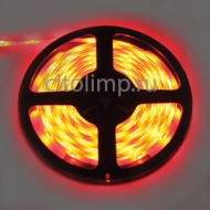 Ecola LED strip PRO 7,2W/m 12V IP65 10mm 30Led/m Red красная светодиодная лента на катушке 5м.
