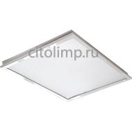 Ecola LED panel встраив. (со ступенькой) панель с драйвером 36W 220V 6500K Призма 595x595x21
