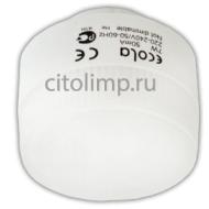 Ecola GX40 7W 220V GX40 2700K плоская белая лампа 40x50