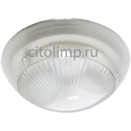 Ecola Light GX53 LED ДПП (DPP) 03-18 светильник Сириус Круг накладной IP65 3*GX53 прозрачный белый 280х280х90