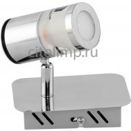 036-006-0002 Светодиодный светильник потолочный 1*5W 4000K Хром ☼5Вт.