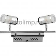 036-006-0003 Светодиодный светильник потолочный 2*5W 4000K Хром ☼10Вт.