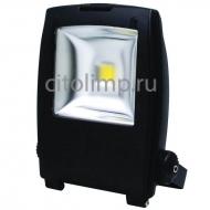 HL172L Светодиодный прожектор 30W 6500K COB LED Черный ☼30Вт.