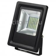 HL176LE Светодиодный прожектор 20W 6400K COB LED Черный ☼20Вт.