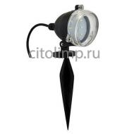 HL283L Светодиодный садовый светильник 3.5W 6400К Черный*** ☼3,5Вт.