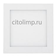 HL639L Светодиодный светильник накладной 15W 3000K Белый ☼15Вт.