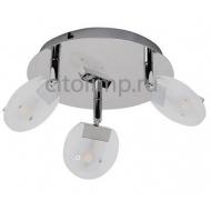 HL7160L Светодиодный светильник потолочный 3*5W 4000K Хром ☼15Вт.