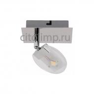 HL7161L Светодиодный светильник потолочный 1*5W 4000K Хром ☼5Вт.