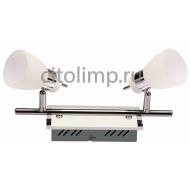HL7192L Светодиодный светильник потолочный 2*4W 3000K Хром ☼8Вт.
