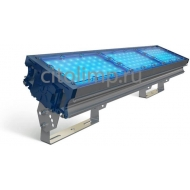 Светодиодный светильник (синий) tl-prom 150 pr plus fl (к) blue 141Вт. 18000Лм. IP67