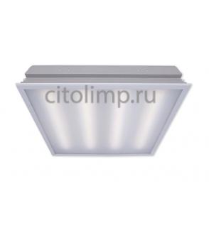 Офисный светодиодный светильник Грильято CSVT Operlux - 34 c Блоком Аварийного Питания (БАП) на 1 час 34Вт. 3100Лм. IP20