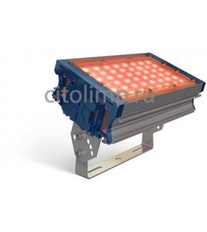 Светодиодный светильник (желтый) tl-prom 50 pr plus fl (д) amber 48Вт. 1891Лм. IP67