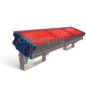 Светодиодный светильник (красный) tl-prom 150 pr plus fl (г) red 126Вт. 3055Лм. IP67