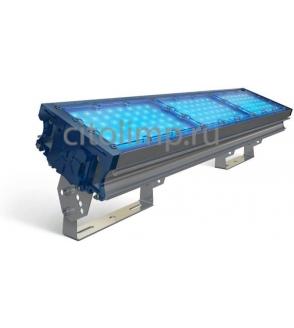 Светодиодный светильник (синий) tl-prom 150 pr plusfl (г) blue 141Вт. 18783Лм. IP67