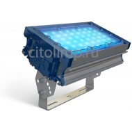 Светодиодный светильник (синий) tl-prom 50 pr plus fl (д) blue 48Вт. 6545Лм. IP67
