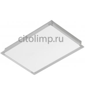 Офисный светодиодный светильник ГКЛ Alumogips-30/opal-sand c Блоком Аварийного Питания (БАП) на 3 час 30Вт. 2500Лм. IP54