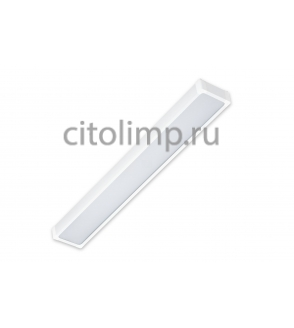 Универсальный светодиодный светильник Hightech-38/opal-sand c Блоком Аварийного Питания (БАП) на 1 час 38Вт. 3300Лм. IP40