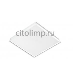 Офисный светодиодный светильник Грильято Alumogips-38/opal-sand c Блоком Аварийного Питания (БАП) на 3 час 38Вт. 3800Лм. IP40