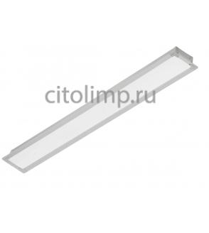 Офисный светодиодный светильник ГКЛ Alumogips-76/opal-sand 76Вт. 7200Лм. IP40