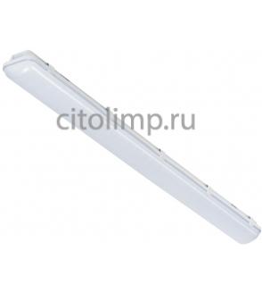 Промышленный светодиодный светильник CSVT SLIM-38 c Блоком Аварийного Питания (БАП) на 1 час 38Вт. 4300Лм. IP65