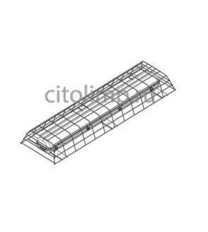 Решетка защитная стальная для светильников Айсберг
