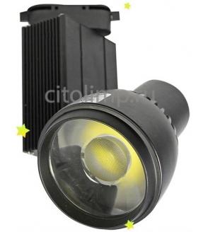 HL820L Светодиодный трековый светильник 25W 4200K Черный*** 25Вт. 995Лм. IP20