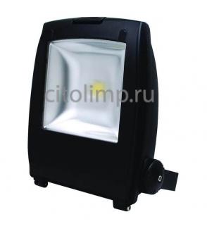 HL173L Светодиодный прожектор 50W 6500K COB LED Черный ☼50Вт.