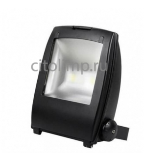 HL174L Светодиодный прожектор 2*50W 6500K COB LED Черный ☼50Вт.