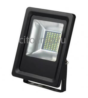 HL176LE Светодиодный прожектор 20W 6400K Черный ☼20Вт.