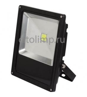 HL178L Светодиодный прожектор 50W 6400K COB LED Черный ☼50Вт.