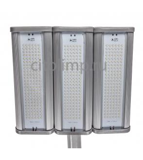Уличный светодиодный светильник Модуль, консоль К-3, 192Вт.,  25200Лм.,  IP67